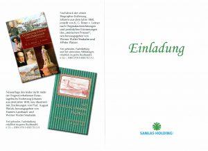 SANLAS - Einladung zur Buchpräsentation Erzherzog Johann 200