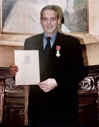 """Honors – Hotel de Ville, Brussels """"Chevalier de Belge TME"""""""